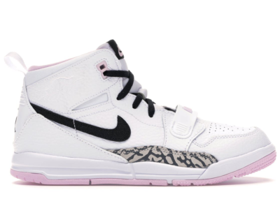 Jordan Legacy 312 White Black Pink Foam (PS) White/Black-Pink Foam AT4047-106