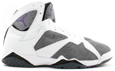 Jordan 7 Retro Flint White/Varsity Purple-Flint Grey 304775-151