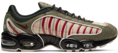 Nike Air Max Tailwind 4 Plaid Olive Olive Canvas/Team Red-Brown CT1197-001