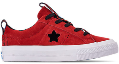 Converse One Star Ox Hello Kitty Fiery Red (PS) Fiery Red/Black-White 363907C