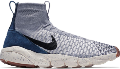 Nike Air Footscape Magista Flyknit Wolf Grey Dark Obsidian Wolf Grey/Black-Sail-Dark Obsidian 816560-001