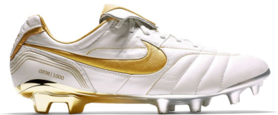 Nike Legend 7 Elite 10R FG Ronaldinho Metallic Summit White/Metallic Gold Coin BV5747-107