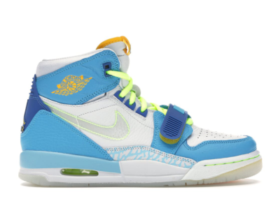 Jordan Legacy 312 Fly (GS) Blue Lagoon/Clear-Team Royal-Off White-Blue Gaze-Amarillo CI4446-400