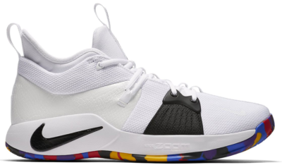 Nike PG 2 NCAA White/Black-Multi-Color AJ5163-100