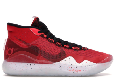 Nike KD 12 University Red University Red/Black-White AR4229-600/AR4230-600