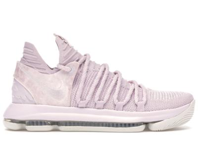 Nike KD 10 Aunt Pearl Pearl Pink/White-Sail AQ4110-600