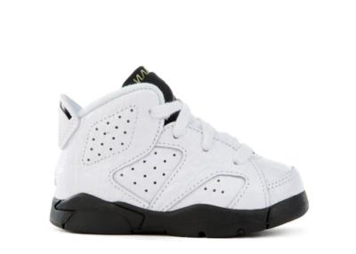 Jordan 6 Retro Alligator (TD) Neutral Grey/Black-White 384667-110