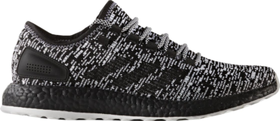 adidas Pure Boost Black White Core Black/Footwear White S80704