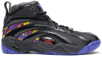 Reebok Shaqnosis Escape from LA Black/Purple-Yellow-Red-Grey V61028