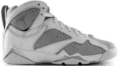 Jordan 7 Retro Pure Platinum (GS) White/Metallic Silver-Pure Platinum 304774-120