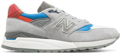 New Balance 998 Grey Light Blue Red Grey/Light Blue-Red M998CNG