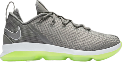 Nike LeBron 14 Low Dunkman Dust/Reflect Silver-Electric Green 878636-005