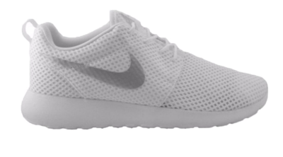 Nike Roshe One BR White Metallic Platinum (W) White/Metallic Platinum 724850-100
