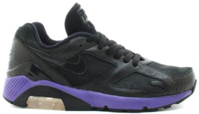 Nike Air Max 180 Powerwall Black Purple Black/Black-Varsity Purple 314200-002