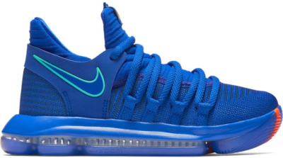 Nike KD 10 City Edition (GS) Racer Blue/Menta-Black-Total Crimson 918365-402