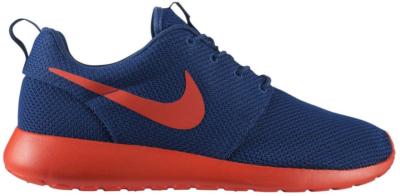 Nike Roshe Run Dark Royal Ornage Dark Royal Blue/Team Orange-Volt 511881-483
