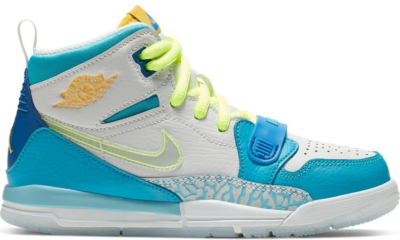 Jordan Legacy 312 Fly (PS) Blue Lagoon/Clear-Team Royal-Off White-Blue Gaze-Amarillo CI4450-400