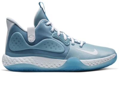 Nike KD Trey 5 VII Cerulean Cerulean/Aura-Laser Blue-White AT1200-401