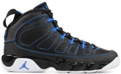 Jordan 9 Retro Photo Blue (GS) Black/White-Photo Blue 302359-007