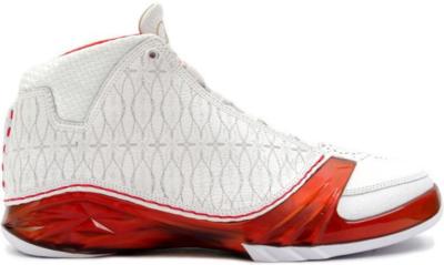 Jordan 23 White Varsity Red 318376-161