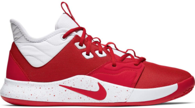 Nike PG 3 Team University Red White University Red/White-University Red CN9512-601