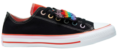 Converse Chuck Taylor All-Star Ox Millie Bobby Brown (W) Black/Mandarin Red-Pink Lady 567300C