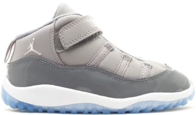 Jordan 11 Retro Cool Grey 2010 (TD) Medium Grey/White-Cool Grey 378040-001