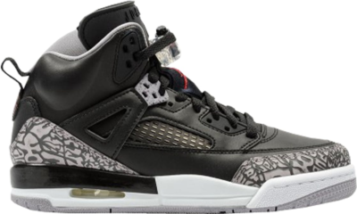 Jordan Spizike Black Cement (GS) Black/Varsity Red-Cement Grey-White-Dark Grey 317321-034