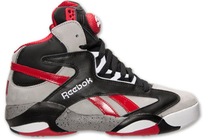 Reebok Shaq Attaq Brick City Red, Black and Grey M40173