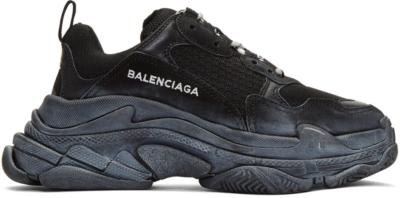 Balenciaga Triple S Triple Black (W) Black 172342F128017