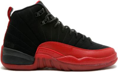 Jordan 12 Retro Flu Game 2009 (GS) Black/Varsity Red 153265-065