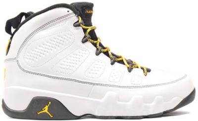 Jordan 9 Retro Quai 54 White/Varsity Maize-Black 302370-105