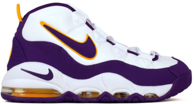 Nike Air Max Uptempo Lakers Derek Fisher White/Court Purple-White-White 311090-103