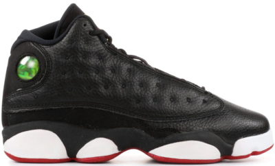 Jordan 13 Retro Playoffs 2011 (GS) Black/Varsity Red-White-Vibrant Yellow 414574-002
