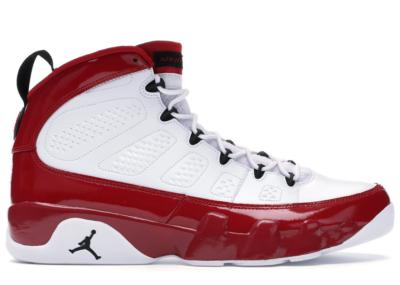 Jordan 9 Retro White Gym Red White/Black-Gym Red 302370-160