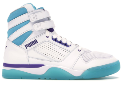 Puma Palace Guard Mid Queen City Puma White/Blue Atoll-Prism Violet 370593-01