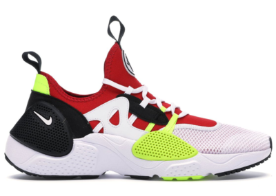 Nike Huarache Edge Txt White University Red Volt Black AO1697-100