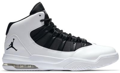 Jordan Max Aura White Black White/Black-Black AQ9084-100
