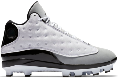 Jordan 13 Retro MCS Cleat Barons White/Black-Wolf Grey-Black AJ8016-120