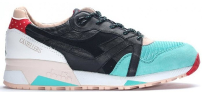 "Diadora N9000 LimitEDition ""Castellers"" Black/Atlantis Green 501.170179-C6021"