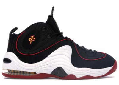 Nike Air Penny II Miami Heat Black/White-University Red-Varsity Maize 333886-002