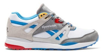 Reebok Ventilator Burn Rubber Boblo Boat White/Grey-Blue V69002