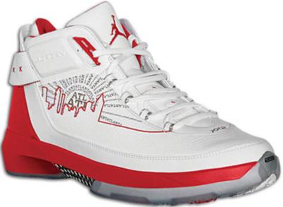 Jordan 22 OG Joe Johnson PE White/Metallic Silver-Varsity Red 317141-104