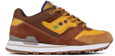 Saucony Courageous Feature Belgian Waffle Yellow/Brown S70323-2