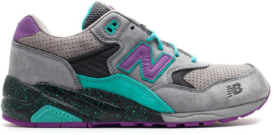 "New Balance 580 West NYC ""Alpine Guide"" Grey/Aqua/Purple MT580WST"