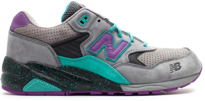 "New Balance 580 West NYC ""Alpine Guide"" Grey/Aqua/Purple MT580WST"
