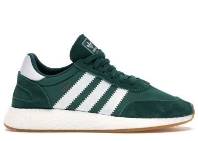 adidas Iniki Runner Green White Gum Collegiate Green/Footwear White/Gum 3 BY9726