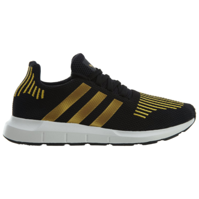 adidas Swift Run Black Gold Metallic-White (W) CG4145
