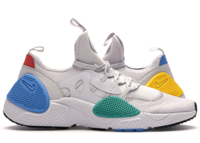 Nike Huarache Edge Vast Grey Multi-Color Vast Grey/Photo Blue-Tour Yellow-Neptune Green-Habanero Red AT4025-002