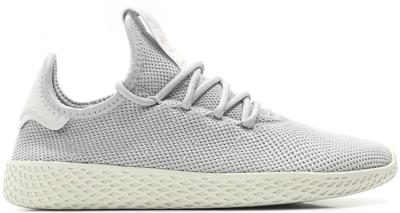 adidas Tennis HU Pharrell Grey (W) Light Solid Grey/Light Solid Grey/Chalk White DB2553